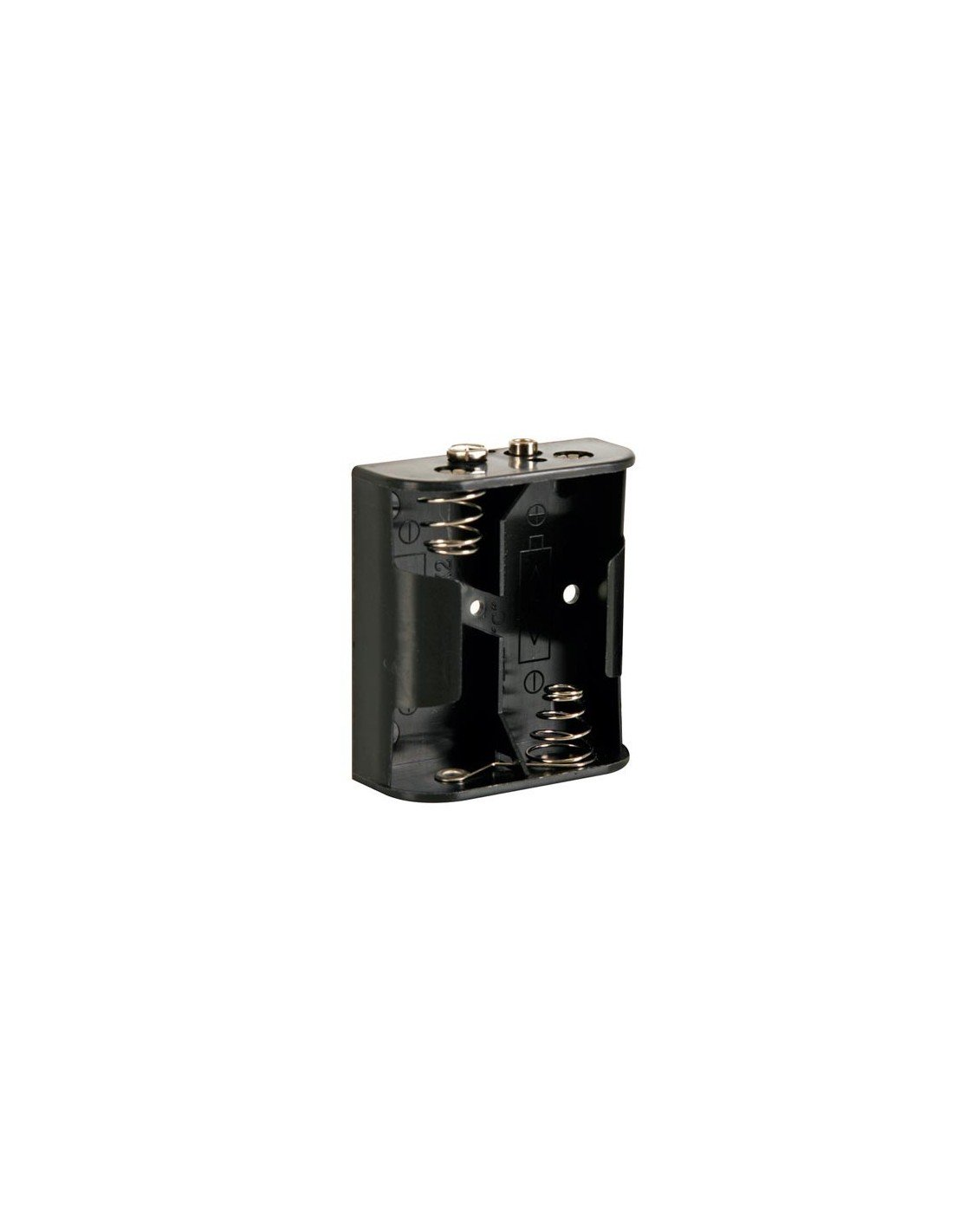 Velleman BH221B Battery Holder for 2 x C-Cell with Snap Terminals, 1 Grade to 12 Grade