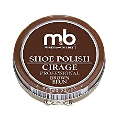 LASTING RESULTS: This classic tin of shoe polish provides a lasting military shine to all leather footwear. This polish restores color, increases water and stain resistance, provides stain and scuff coverage, nourishes leather and provides an unmatch...