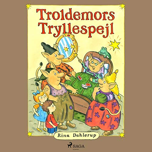 Troldemors tryllespejl cover art