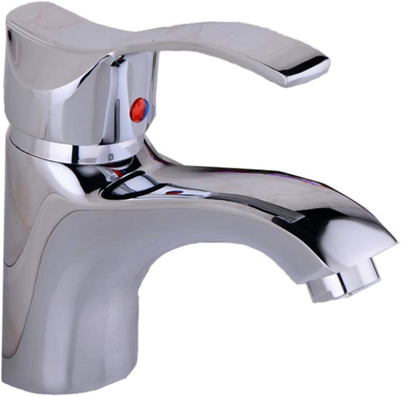 Faucet Mone Spout Basinfacebasin Faucet Washbasin Cold and Hot Water Faucet Washbasin Faucet Mixed Cold and Hot Sitting Single Faucet