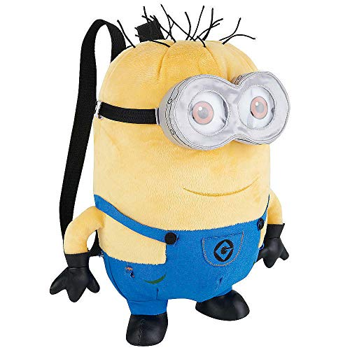 Despicable Me 2 Two Eye Minion 14-Inch Plush Backpack