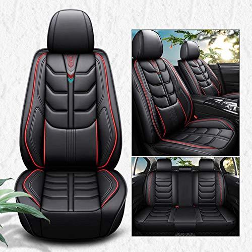 DSGHH Coprisedili Auto Universale per Ford Mondeo Focus 2 3 Kuga Fiesta Edge Explorer Fiesta Fusion Coprisedile Auto Nero Rosso Comfort