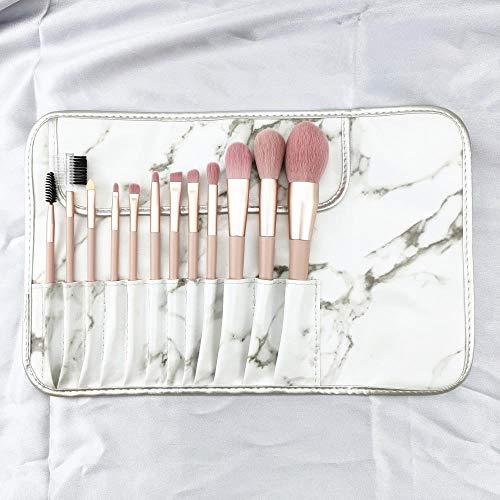 Ensemble De Pinceaux De Maquillage Rose Fille Coeur Outil De Pinceau De Beauté Beau Maquillage, 12 Pinceaux Roses Y
