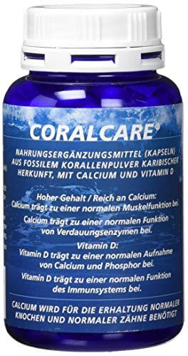 Coralcare Coral Calcium mit Vitamin D3, 1er Pack (1 x 120 Kapseln)
