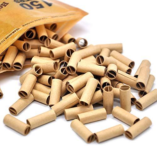HJBH Filtros De Cigarrillos Desechables, 150 Filtros, Sistema De Filtración Avanzado, Boquilla De Soporte Que Reduce Las Manchas De Alquitrán Y Humo (para Cigarrillos De 6 Mm)