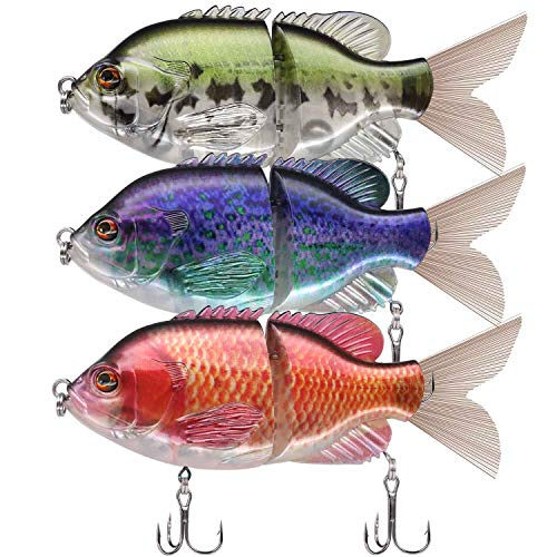 TRUSCEND Metal Jointed Fishing Lures 6