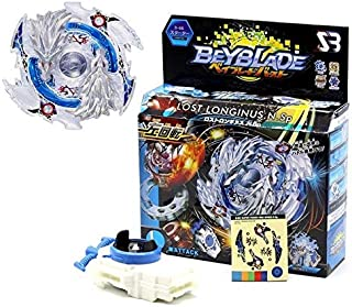 HAPPYTOYS Beyblade Metal Funsion 4D With Launcher Spinning Top Classic Toy Fighting Gyro,White
