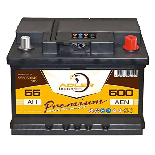 Adler 420 A/EN 55559 Autobatterie