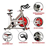 Sunny Health & Fitness Spin Bike SF-B901 Pro Indoor Cycling Exercise Bike