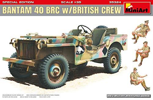 ミニアート 1/35 イギリス軍 バンタム40RBC イギリス兵3体付 特別版 プラモデル MA35324