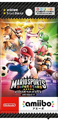 『マリオスポーツ スーパースターズ』amiiboカード (4パックセット)