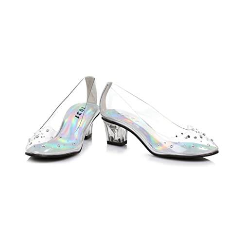 9470b1f5c705 Glass Slipper Disney Princess Cinderella Girls Costume Heels Shoes