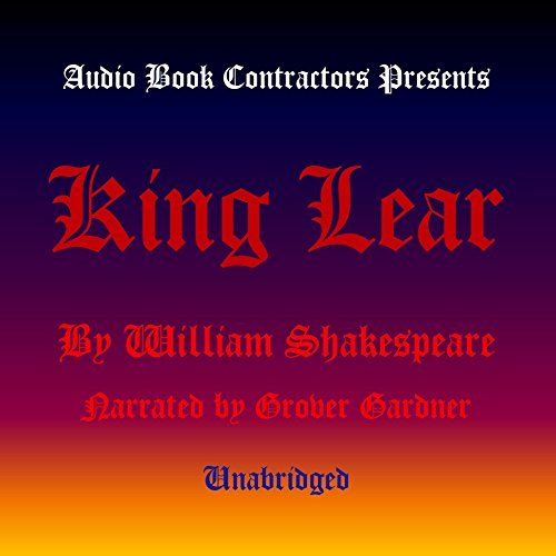 King Lear audiobook cover art