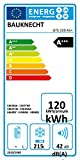 Bauknecht GTE 220 A3+ Gefriertruhe / A+++ / Gefrieren: 215 L / Digitale Temperaturanzeige / ECO Energiesparen / Kindersicherung - 15