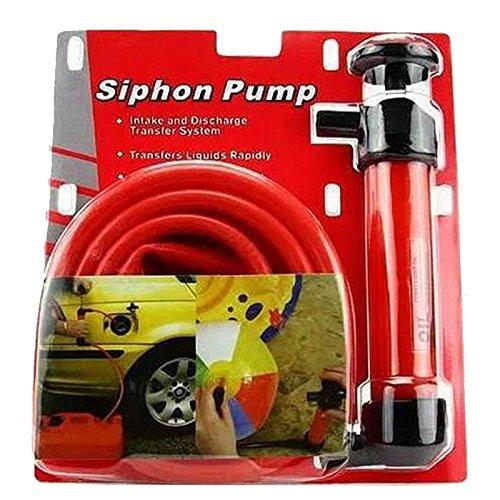 CarOver 手動式 簡易 オイル チェンジャー 手動 ポンプ ホース バイク 車 ガソリン 灯油 給油 携帯 軽量 CO-OILPUMP