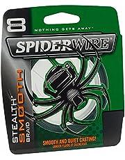 Spiderwire Smooth 8 Cable Trenzado, Unisex Adulto