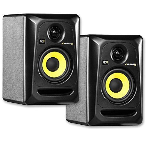 KRK RP4G3 4' High Performance Studio Monitors - Black (Pair)