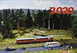 Modellbahn-Impressionen 2020: Kalender 2020 - MIBA-Miniaturbahnen