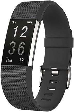 SoSanSa Fitness Tracker Bluetooth Smart Bracelet 115 HR Pedometer