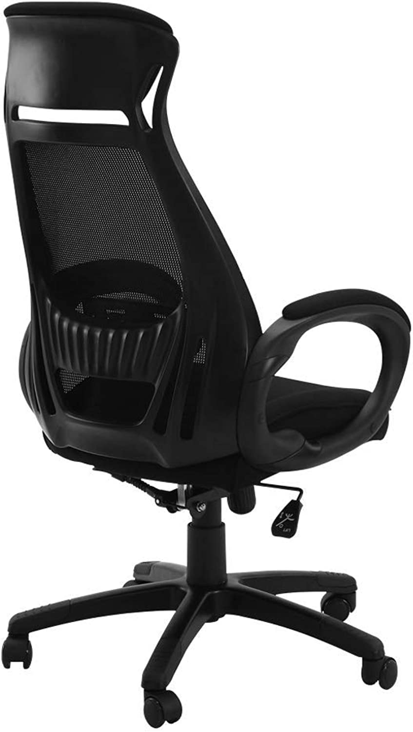 Office Chair, High Back Large Seat and Ergonomic Swivel Chair Reclining Computer Desk Chair Breathable Mesh R08