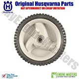 Husqvarna 583719501 Drive Wheels Grey Self Propelled Set of 2