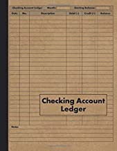 Checking Account Ledger: Payment Record Check Register Notebook - 120 Pages - Transaction and Balance Book for Checking Ac...