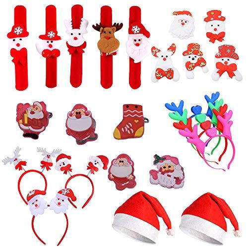 Amasawa 24 Piezas Sombrero de Navidad