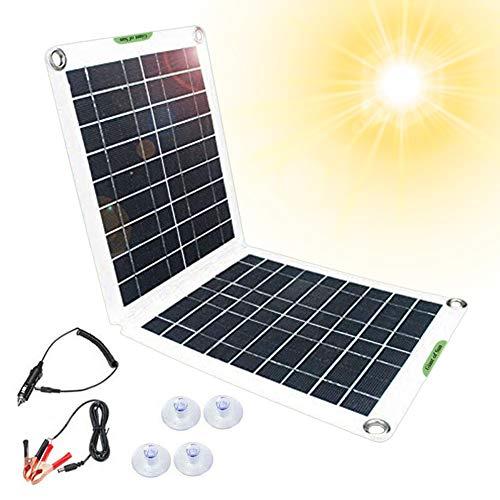 portable solar power generator with solar panel