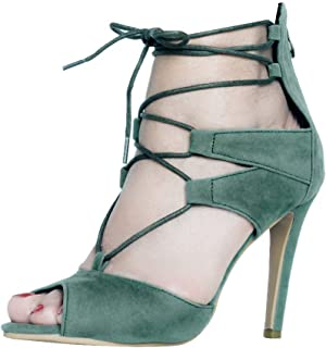 CASSOCK Ladies Handmade High Heel Shoes Casual Simple Office Style Fashion Sandals