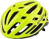 Giro Agilis Casco de Bicicleta, Unisex Adulto, Amarillo Fluorescente, M   55-59cm