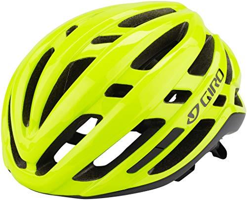 Giro Agilis Casco de Ciclismo Road, Unisex Adulto, Amarillo Fluorescente, M   55-59cm