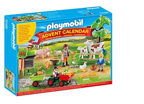 Playmobil - Calendrier de lAvent Animaux de la Ferme - 70189