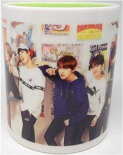 BTS bangtan 男孩–12照片海报 (40.64cm x 50.80cm) + 1贴纸 + 5照片 (40.64cm x 50.80cm)