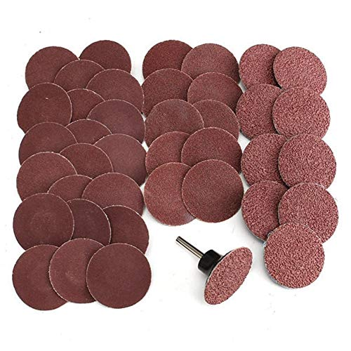 Why Choose Multitool Sanding Kits 40pcs 2 Inch Roll Lock Sanding Disc 40/80/120/240 Grit Abrasive To...