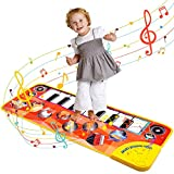 Dreamingbox Toddler Toys, Piano Dance Mat Toys for 1-5 Year Old Boys Musical Educational Toys Gifts for 1 2 3 4 5 Year Old Girls Soft Play Equipment Easter Gifts for Children Boys Girls Toys Age 2-6