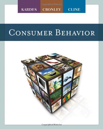 6 best consumer behavior kardes, cronley for 2020