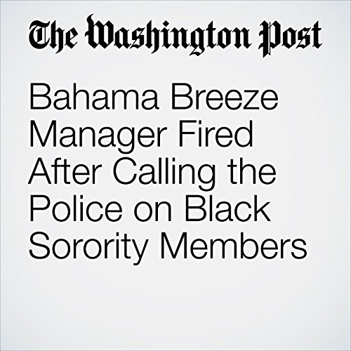 Bahama Breeze Manager Fired After Calling the Police on Black Sorority Members copertina