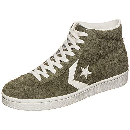Converse Chucks High PRO Leather MID 157690C Grün Medium Olive, Schuhgröße:38
