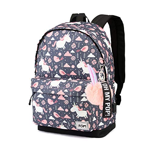 Oh My Pop Oh My Pop! Fantasy-HS Backpack Mochila Tipo Casual 42 Centimeters 23 Multicolor (Multicolour)