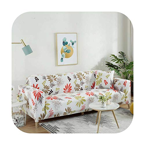 Sofa covers Elastic Armchair Cover 1/2/3/4 Seater New Slipcover Couch Covers Sofa Case for Living Room Corner-A10-3-Seat 190-230Cm 1Pc