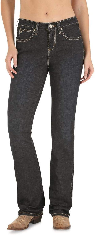Wrangler Women's Aura Instantly Slimming Jeans, BT WASH, 2 Regular