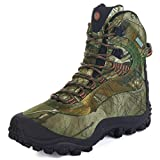 Manfen Men's Thermator Mid-Rise Waterproof Hiking Boots Trekking Outdoor Boots, Camouflage, 10.5