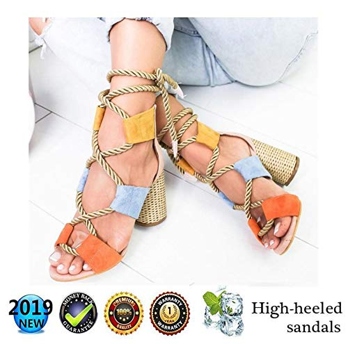 Sandals Wedges Espadrilles hoog, Peep Toe Plateau wighak dames zomer elegante enkelriem gesp wigsandalen plat leer comfortabele casual schoenen, 8 cm hoge hak roze