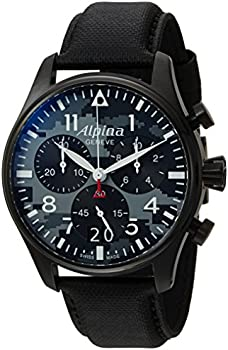 Alpina Startimer Chronograph Camouflage Dial Men's Watch