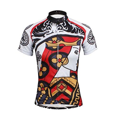Hebike - Juego de maillot y pantalones cortos de ciclismo para mujer,...