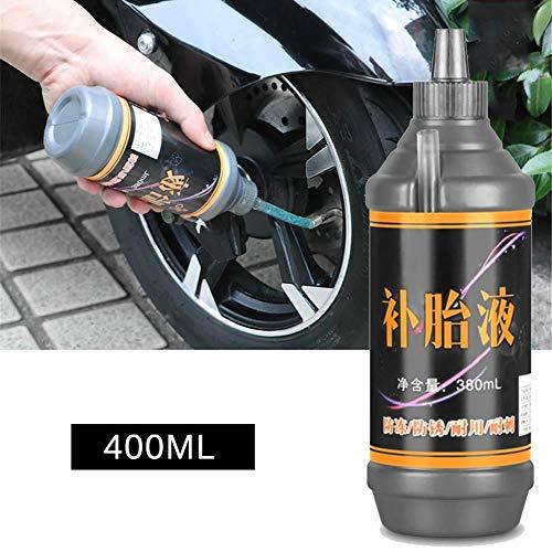 380ML Neumático Líquido para Llantas Neumático Autohidratación Moto Bicicleta De Montaña Neumático Sellador Protección De La Máquina Punción Sellador Neumático Reparación De Neumáticos Líquido