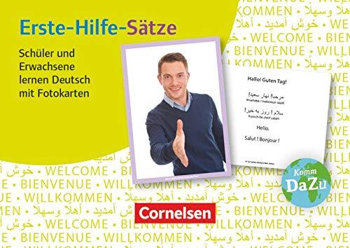 Deutsch lernen mit Fotokarten - Sekundarstufe I/II und Erwachsene: Erste-Hilfe-Sätze - 100 Fotokarten