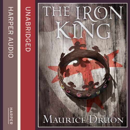 The Iron King audiobook cover art