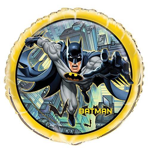 Unique Party 49917 - Palloncino Batman in lamina da 18 '