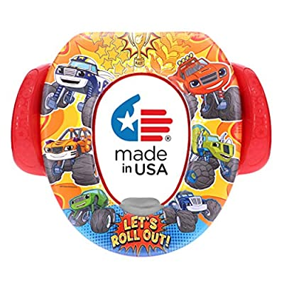 Nickelodeon Blaze and the Monster Machines Let's Roll Out Soft Potty Seat, Small by Ginsey Home Solutions